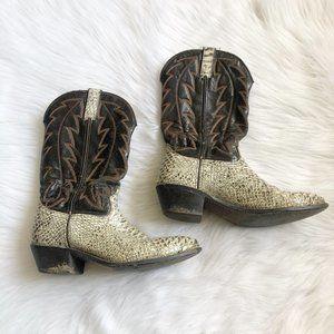 DURANGO Sanke Cowboy Boots SZ 9.5D